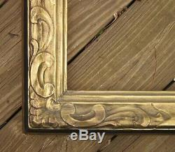 1946 Rare PAIR Signed THULIN ART CRAFTS Carved Gilded BOSTON 22 x 27 Frames