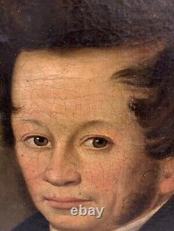 Antique Dated 1806 John Livingstone Lady & Gentleman Oil On Canvas Portraits