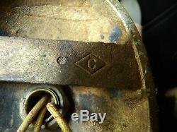 Bronze Antique Pair Signed Caldwell 2 arm Wall Sconces Estate 1 of 5 pr