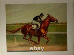 C. W. Anderson, Man of War, Vintage Litho pair, Horses, 1967