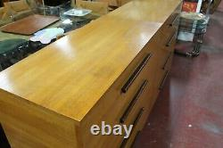 Gilbert Rohde for Herman Miller Pair of Dressers Rare Signed Mid Century Modern