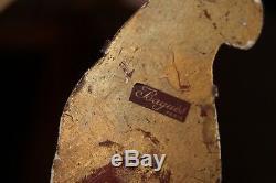 PAIR FRENCH ART DECO 1920's MAISON BAGUES CRYSTAL SIGNED PARROT SCONCES