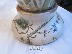 Pair 1940's Rosenthal Kunstabteilung Selb Porcelain Signed Table lamp