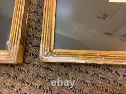 Pair Of Vanity Fair, SPY Chromolithographs Billard Baseball Frames