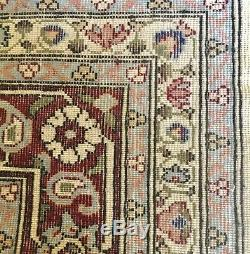 TWO Turkish HEREKE Persian Rug Pair 5x7 EACH Signed, Hand Made, FINE Wool/Cot