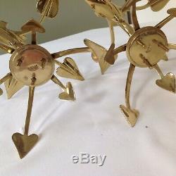 Was Benson Arts Crafts Nouveau Fantastic Rare Pair Candlesticks Signed